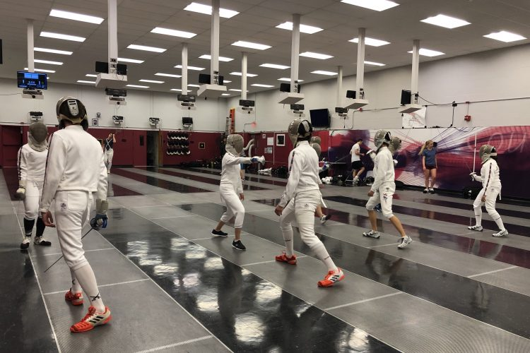 Fencing Room: Home of MIT Women's and Men's Varsity Teams