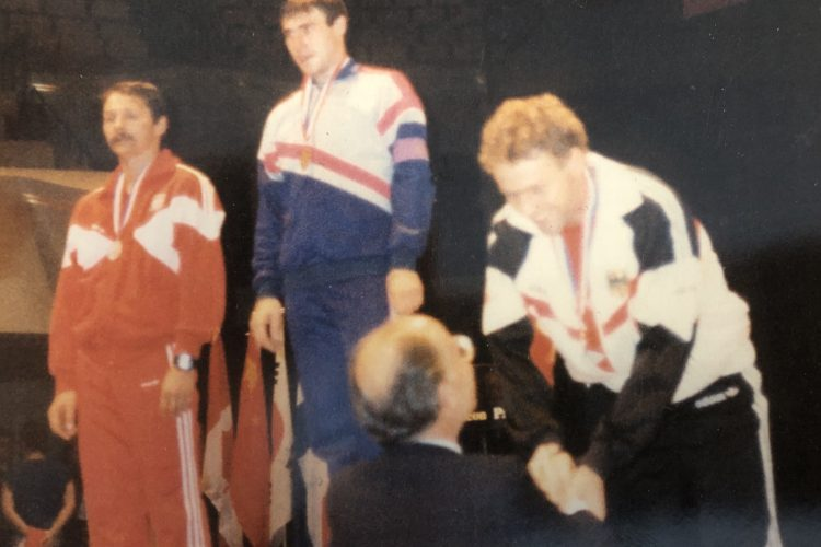 Jarek Koniusz at the World Championships 1989